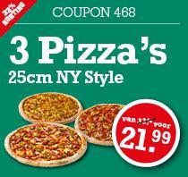 68629 Original Ny Pizza Coupon by Pizza Bestellen Ridderkerk New York Pizza