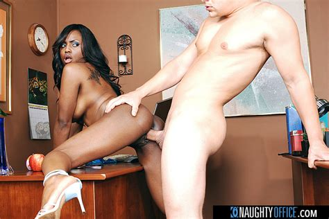 Jada Fire Fucking In The Office With Her Big Tits