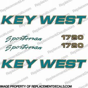 Key West Sportsman 1720 Boat Decals