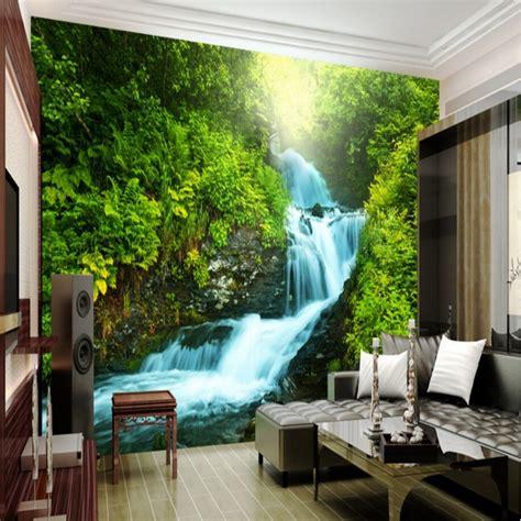 beibehang custom nature wallpaper  stereoscopic  photo