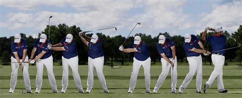 Golf Swing Sequence by Swing Sequence Shane Lowry New Zealand Golf Digest