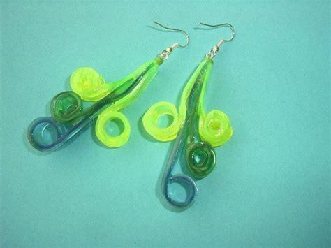 jewelry   plastic ice cream spoons recycled crafts
