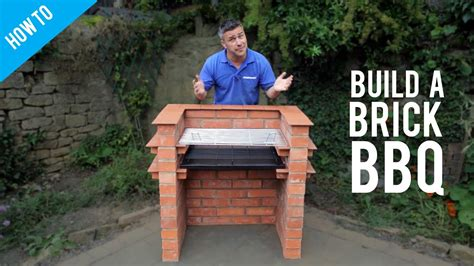 Build A Backyard Bbq by How To Build A Brick Barbecue