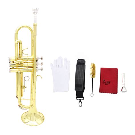 Accessori Lade by Buy Lade Gold Trumpet Bb B Flat Brass Trumpet With