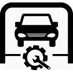 Icon Garage Service Repair Check Tool Maintenance