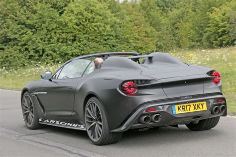 speedster version of aston martin s vanquish zagato looks