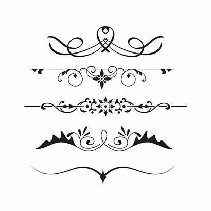 Divider Dividers Clipart Decorative Line Clip Banner