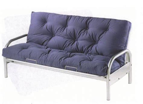 Metal Futon by Futon Sofa Bed Metal Frame Satin Black Futon Superb Metal