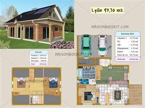 plan de maison bois gratuit