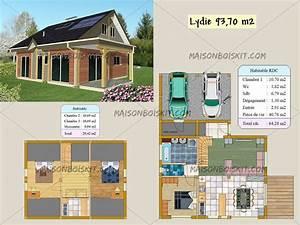 plan maison bois rond gratuit With plan maison bois gratuit