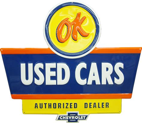 Chevrolet Ok Used Cars Sign Chevymall