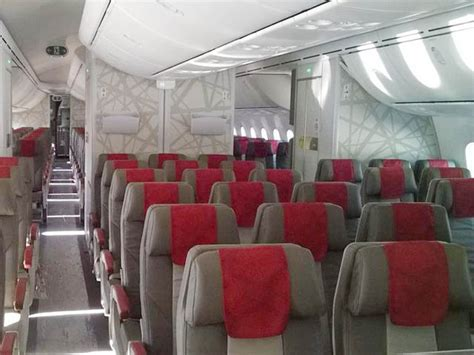 royal air maroc 747 interieur images