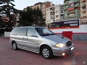 Kia Carnival 2 9 Crdi Ex Diesel Gris    Plata Del 2005 Con