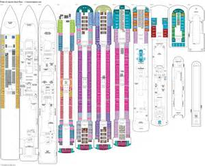 pride of america deck plans diagrams pictures video