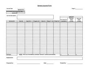 Blank Accounting Worksheet 9 Best Images Of Printable Journal Entry Form Sle Journal Entry Form Blank Journal Entry