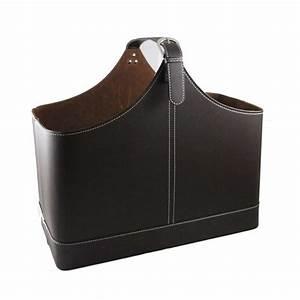 Porte Revue Design : porte revues en simili cuir ~ Melissatoandfro.com Idées de Décoration