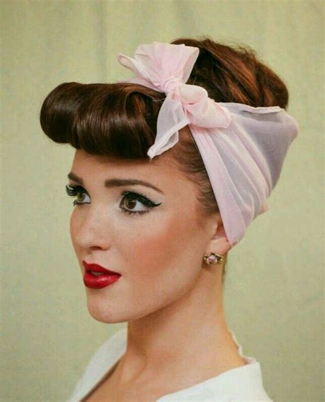 Simple 50s Hairstyles For Hair by Fabulous 50s Hairstyles You D Totally Wear Today