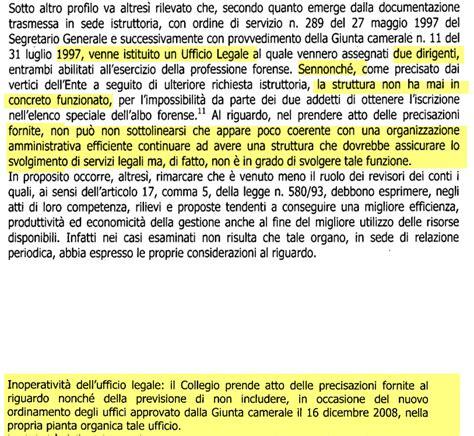 Ufficio Legale Italia - sprechi italiani l ufficio legale fantasma della