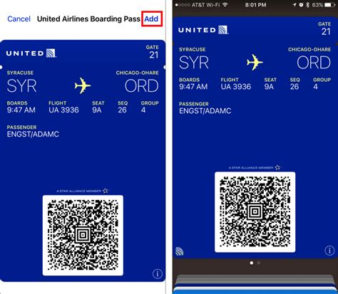 how to get boarding pass on phone how to set up and use airline boarding passes in wallet