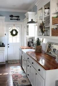 Stunning, Small, Cottage, Kitchens, Decorating, Ideas, 15