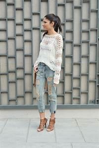 le parfait pull ajoure june sixty five blog mode With blog tendance mode femme