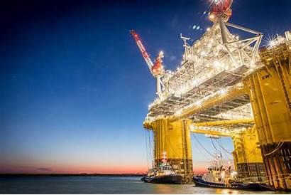 Shell Appomattox Platform Gulf Offshore Oil Rig
