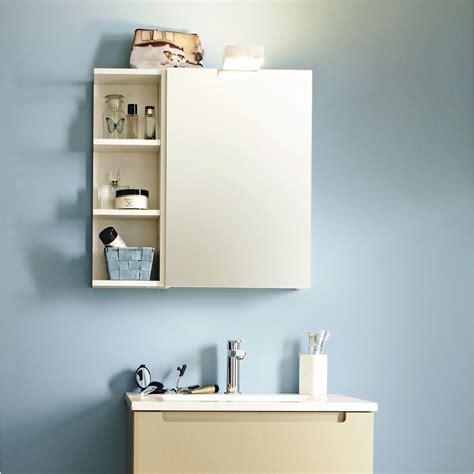 Armoire De Toilette, Blanc, L40 Cm Sensea Modulo Leroy
