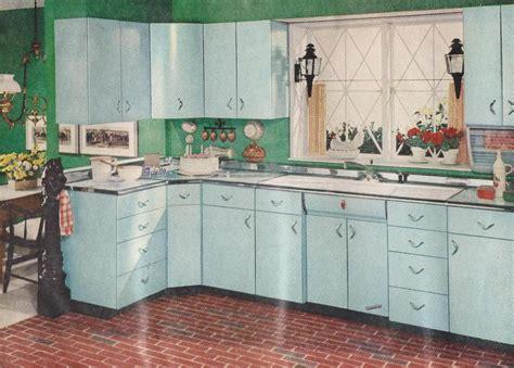 1950 retro kitchen accessories better homes gardens 1950s kitchen with blue cabinets 3812