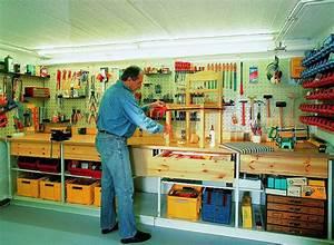 Werkstatt Einrichten Tipps : ein kellerraum wird zur werkstatt ausgebaut selber machen heimwerkermagazin ~ Orissabook.com Haus und Dekorationen