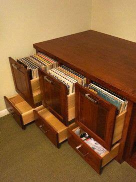 vinyl vintage storage custom cherry audio and vinyl record storage cabinet 3289