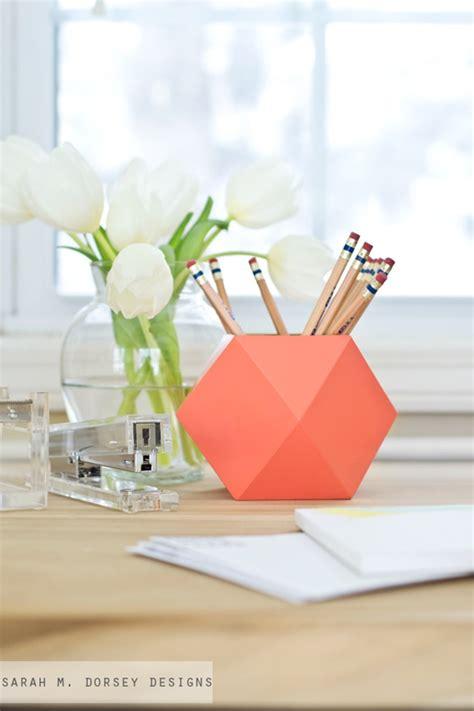 diy pencil holder for desk 10 diy ideas to organize your desk