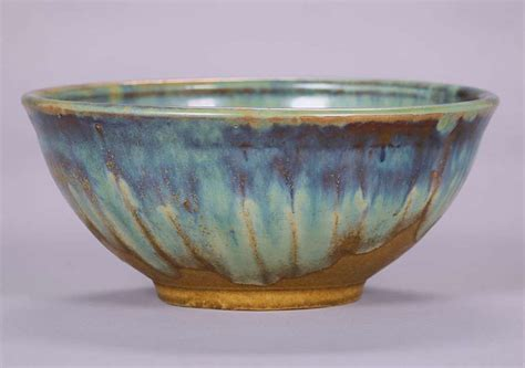 fulper pottery fruit bowl california historical design