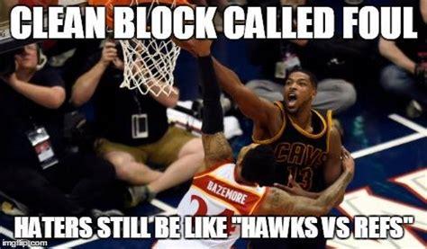 funny memes   atlanta hawks crushed  lebron