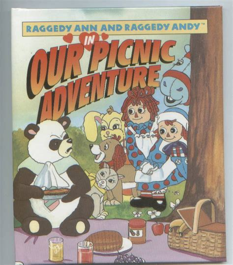raggedy and andy our picnic adventure 615 | raggedyann