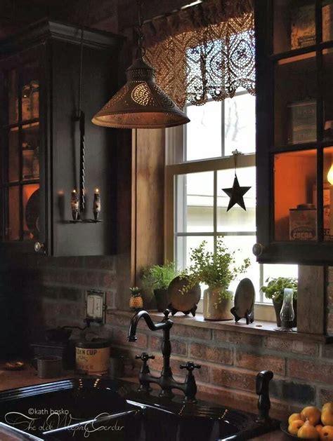 Country Primitive Kitchen Kitchen  Home Designing