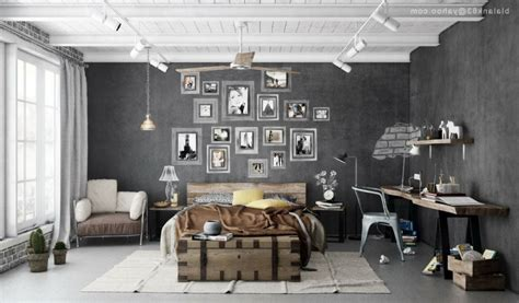 Modern Rustic Bedroom Decorating Ideas