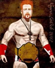 WWE Sheamus Drawings