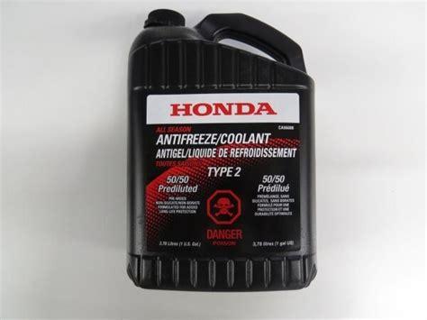 Honda Antifreeze Coolant Prediluted 3.78l (1gal) Ca66688