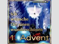 1 Advent Whatsapp Bild Facebook BilderGB Bilder