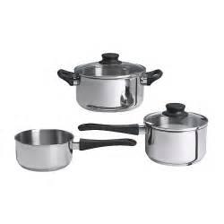 annons  piece cookware set ikea