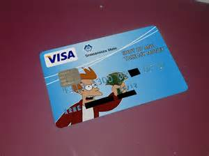My bank just approved my new personal VISA card design ...