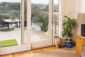 build a dog door for sliding glass door theydesignnet With small dog door sliding glass