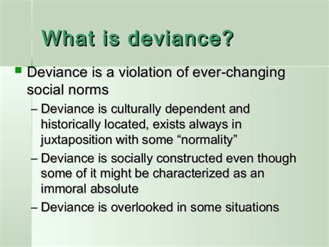 modification si e social association chapter 6 deviance and social ppt