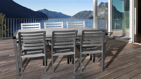 chaise alu mobiliers de jardin le du design extérieur