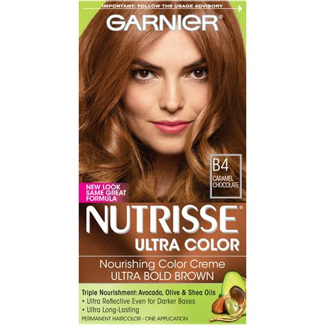 Ultra Brown Hair Dye by Garnier Nutrisse Ultra Color Nourishing
