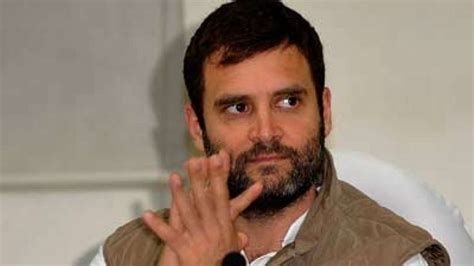Only one man's voice counts: Rahul Gandhi