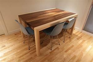 Table En Noyer : table merisier ~ Teatrodelosmanantiales.com Idées de Décoration