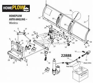 Electric Actuator Harness Home Plow By Meyer  Wireless
