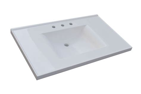 37 vanity top with integrated sink sagehill designs wb3722 w white 37 quot cultured marble vanity