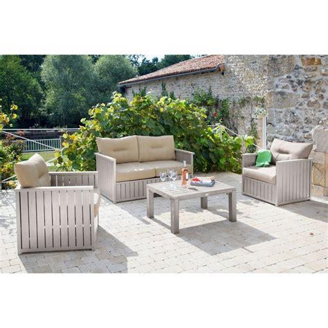 canapé 2 fauteuils salon de jardin canapé table basse 2
